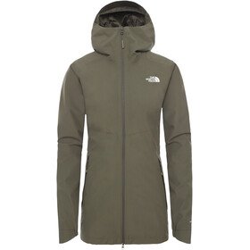 The North Face Hikesteller Chaqueta Parka Shell Mujer, new taupe green